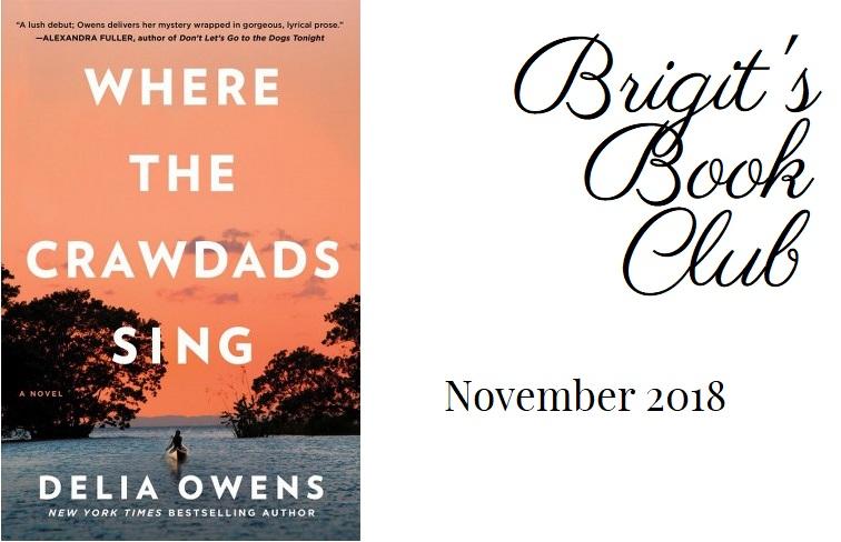 Brigit's Book Club: Where the Crawdads Sing
