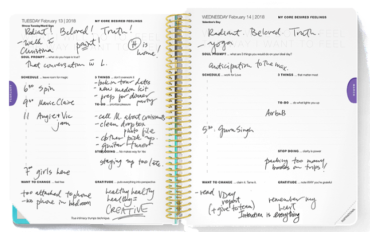 The Desire Map Planner: Put Your Soul on the Agenda