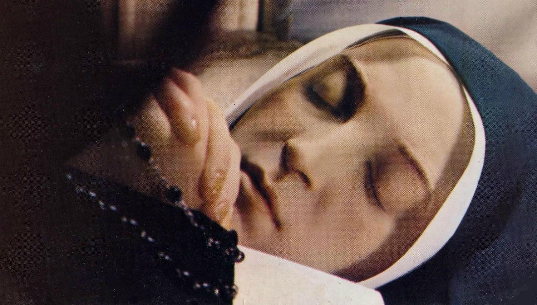 The Sleeping Saint of Nevers