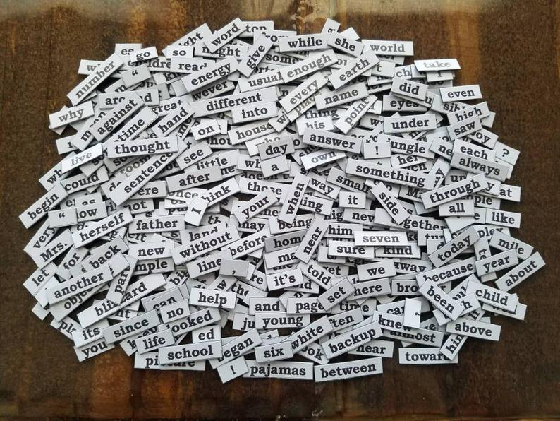 """August's Erotic Poetry Challenge: """"Magnetic Poetry"""""""