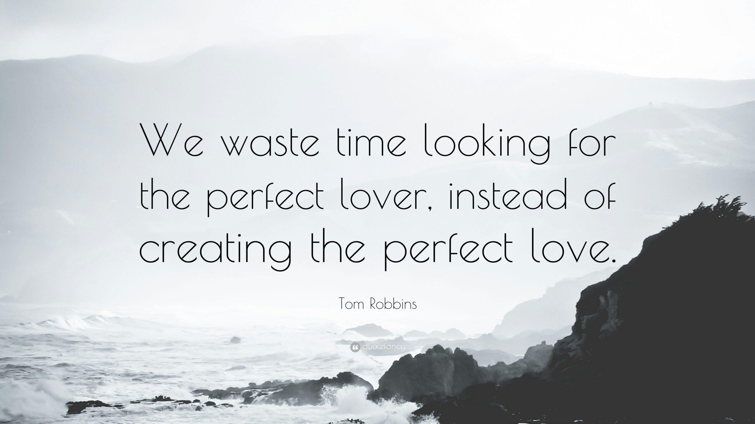 Seeking Perfection vs. Creating a Vision